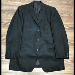 Other - Vintage 1960s Custom Made Herringbone Suit 44L